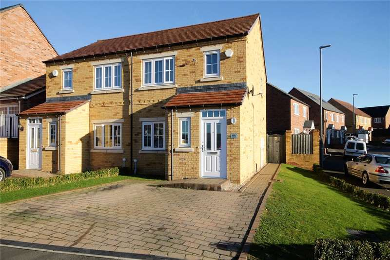 3 Bedrooms Semi Detached House for sale in Redmire Drive, Dales View, Consett, DH8