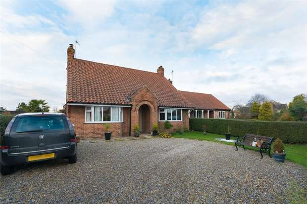 2 Bedrooms Detached Bungalow for sale in Church Road, Stamford Bridge, YORK