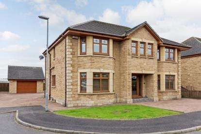 4 Bedrooms Detached House for sale in Gillie-Burn Gardens, Shotts