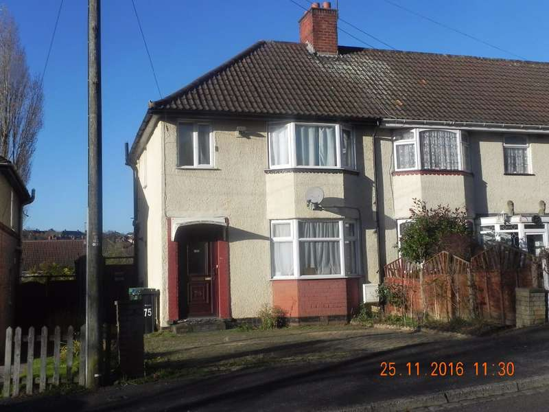 3 Bedrooms End Of Terrace House for sale in Harvest Road, Smethwick, B67 6NH