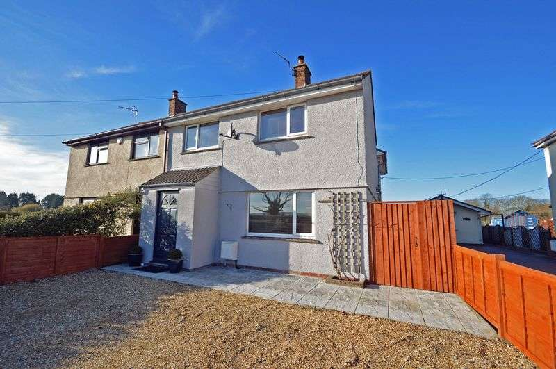 4 Bedrooms Semi Detached House for sale in Kenn Road, Kenn Countryside