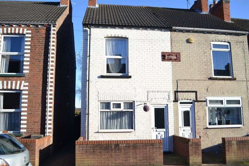2 Bedrooms Semi Detached House for sale in North Parade, Ashby