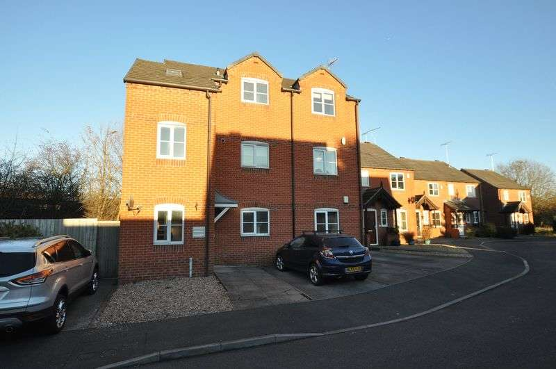 2 Bedrooms Flat for sale in Castle Croft, Castle Gresley, Swadlincote