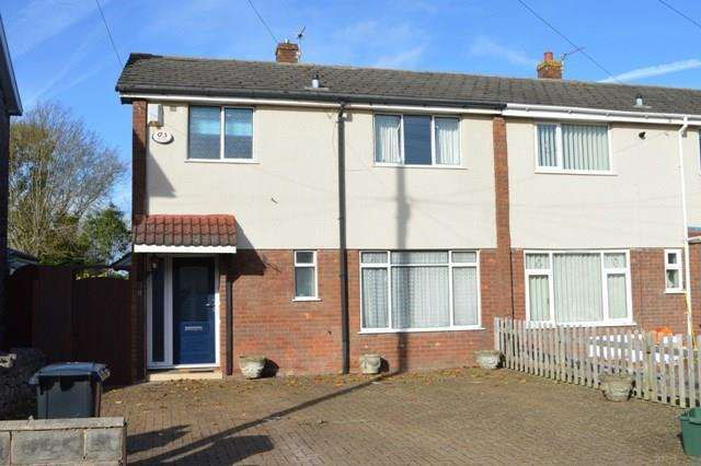 3 Bedrooms End Of Terrace House for sale in Castle Road, Worle, Weston-super-Mare