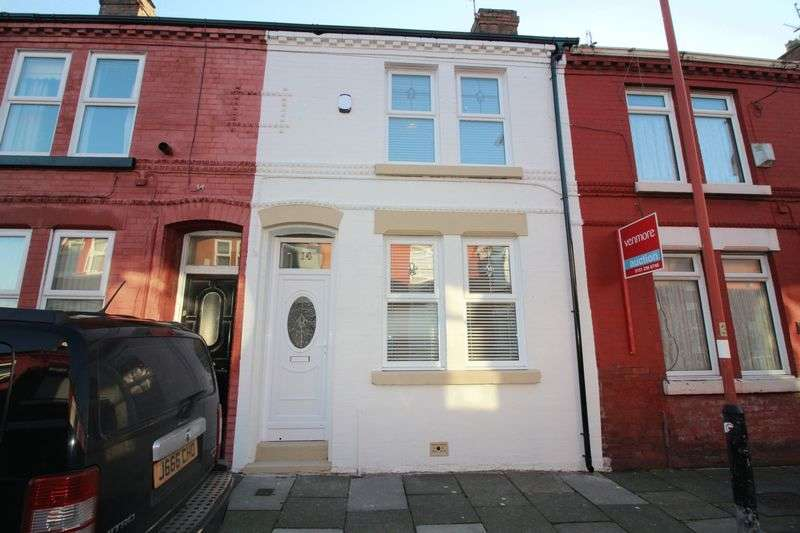 2 Bedrooms Terraced House for sale in Pennington Road, Liverpool