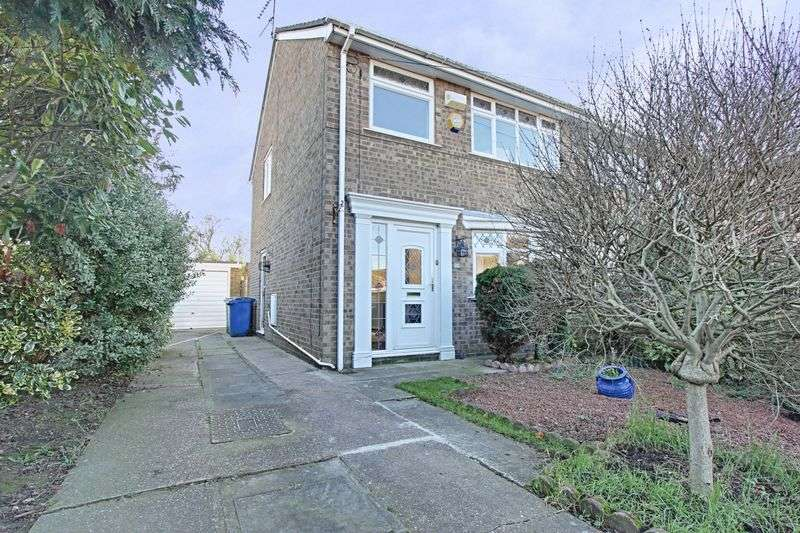 3 Bedrooms Semi Detached House for sale in Lincoln Green, Hull