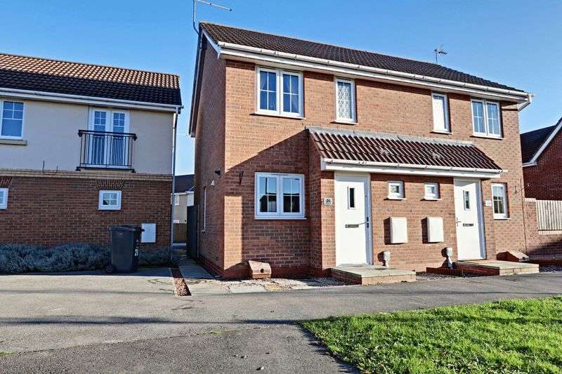 2 Bedrooms Semi Detached House for sale in Pasture View, Kingswood