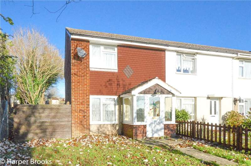 2 Bedrooms End Of Terrace House for sale in Simpson Close, Fareham, Hampshire, PO16