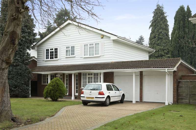 4 Bedrooms Detached House for sale in Marrowells, Weybridge, Surrey, KT13