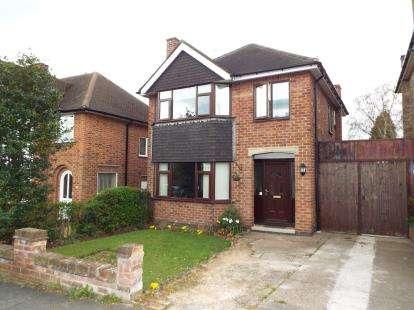 3 Bedrooms Detached House for sale in Burnside Drive, Bramcote, Nottingham, Nottinghamshire