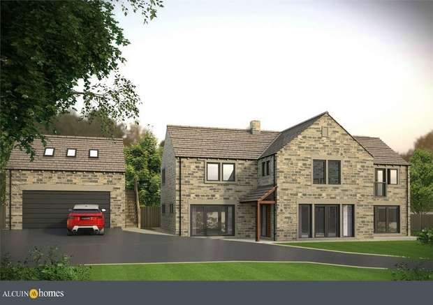 5 Bedrooms Detached House for sale in Abbey Gardens, Shepley, HUDDERSFIELD
