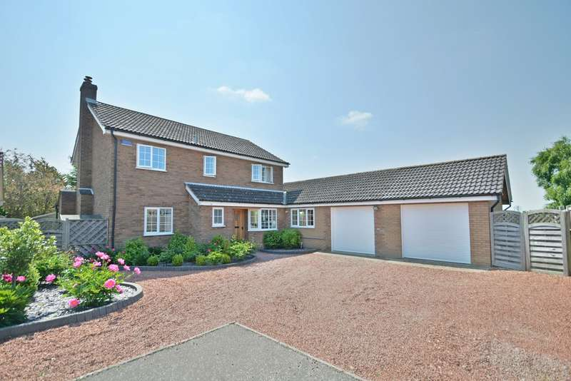 5 Bedrooms Detached House for sale in The Fields, Tacolneston