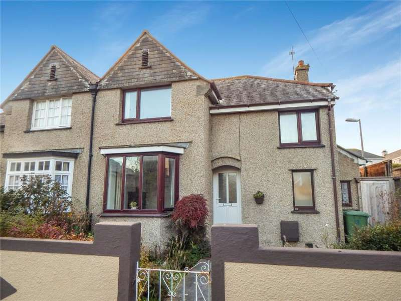 3 Bedrooms Semi Detached House for sale in Tencreek Avenue, Penzance, Cornwall
