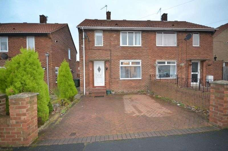 2 Bedrooms Semi Detached House for sale in Derwent Close, Seaham