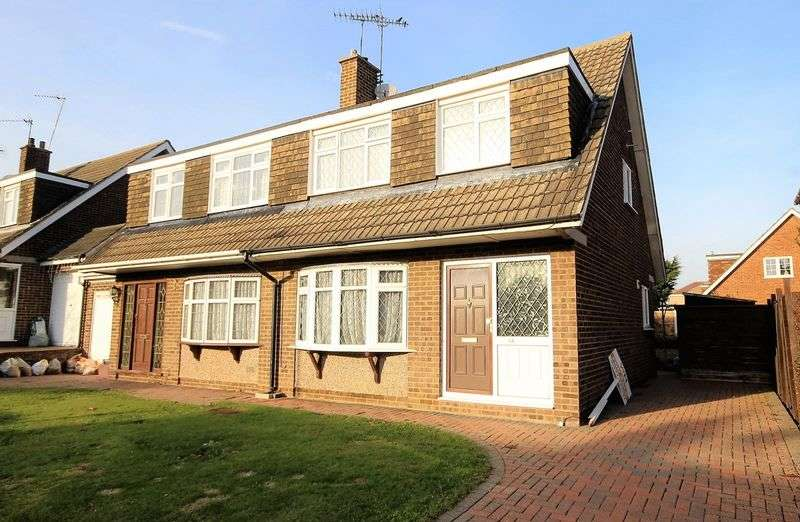 3 Bedrooms Semi Detached House for sale in Iris Close, Pilgrims Hatch, Brentwood