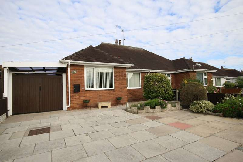 2 Bedrooms Semi Detached Bungalow for sale in Water Lane, Crossens, Southport