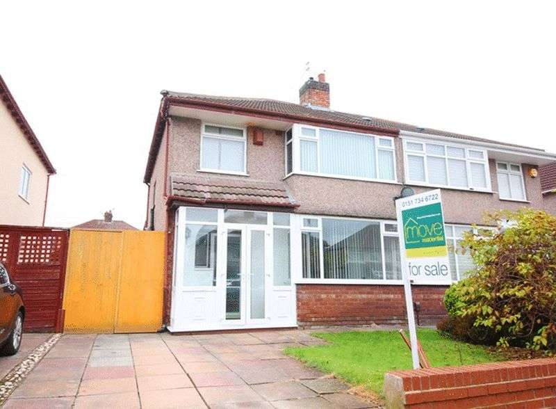 3 Bedrooms Semi Detached House for sale in Melbreck Road, West Allerton, Liverpool, L18