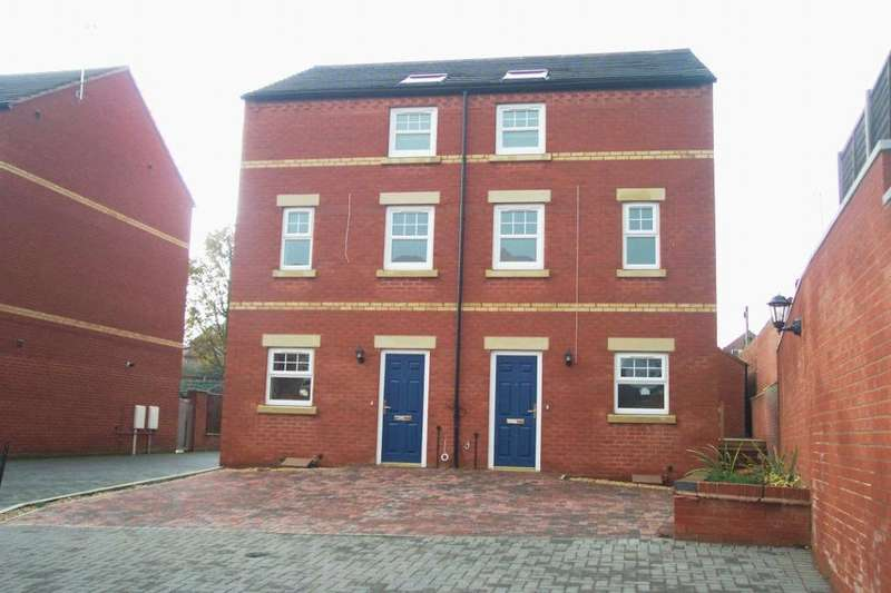 3 Bedrooms Semi Detached House for sale in Courtyard Place, Spondon, Derby, DE21