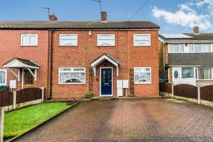 3 Bedrooms End Of Terrace House for sale in Byron Street, West Bromwich, Sandwell, West Midlands