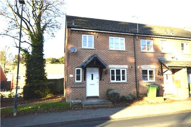 3 Bedrooms Semi Detached House for sale in Millbrook Place, Lansdown, Stroud, Gloucestershire, GL5 1BA