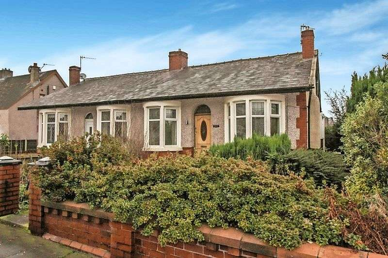 2 Bedrooms Semi Detached Bungalow for sale in Moss Hall Road, BB5 5AS
