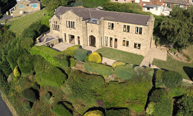 5 Bedrooms Detached House for sale in Common End Lane, Lepton