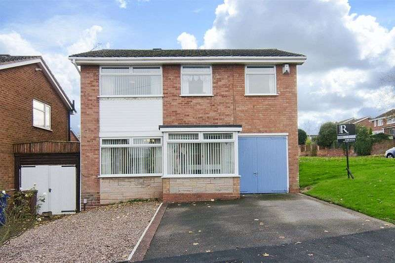 4 Bedrooms Detached House for sale in Bracken Way, Etching Hill, Rugeley