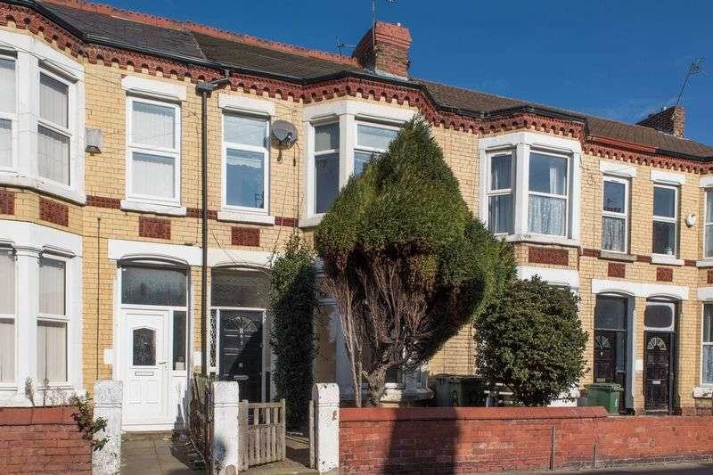 5 Bedrooms Terraced House for sale in Glenalmond Road, Wallasey