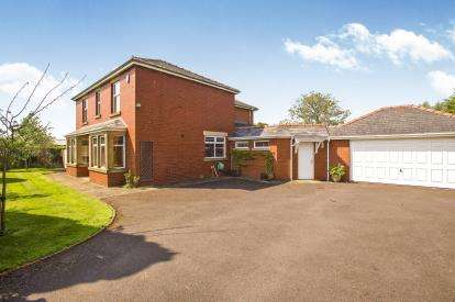 4 Bedrooms Detached House for sale in Silk Mill Lane, Goosnargh, Preston, Lancashire, PR3