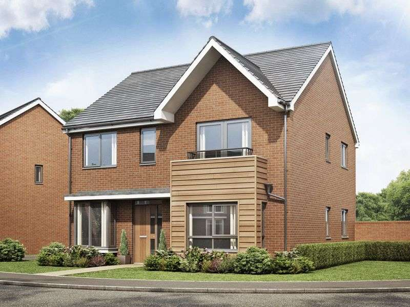 4 Bedrooms Detached House for sale in The Barlow, Bramshall Meadows, Uttoxeter