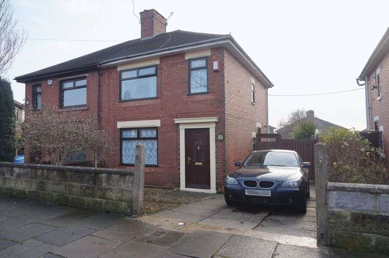 3 Bedrooms Semi Detached House for sale in Broadfield Road, Sandyford, Stoke-On-Trent, ST6 5PW