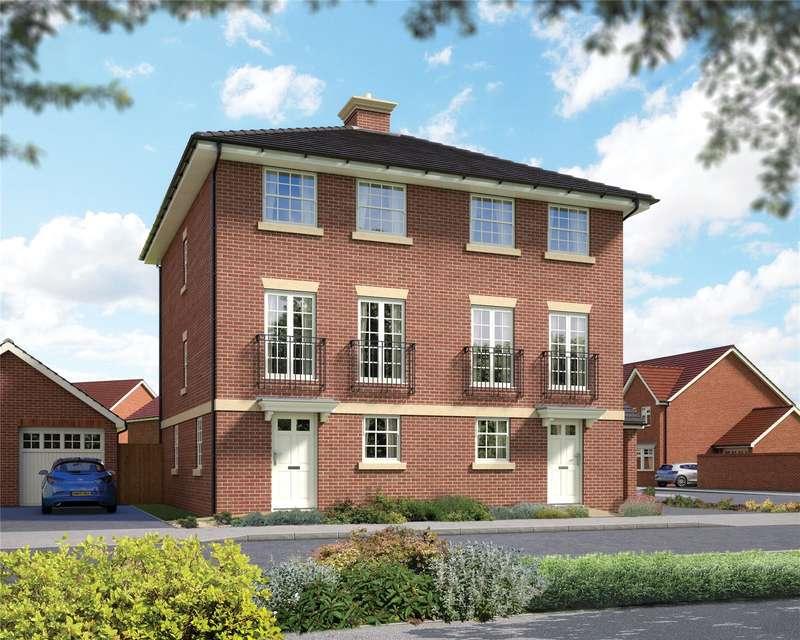 3 Bedrooms Semi Detached House for sale in Hatchwood Mill, Wokingham, Berkshire, RG41