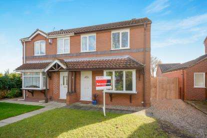 3 Bedrooms Semi Detached House for sale in Ridgewell Close, Lincoln, Lincolnshire