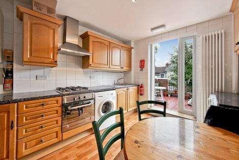 3 Bedrooms Flat for sale in Burgoyne Road, London N4