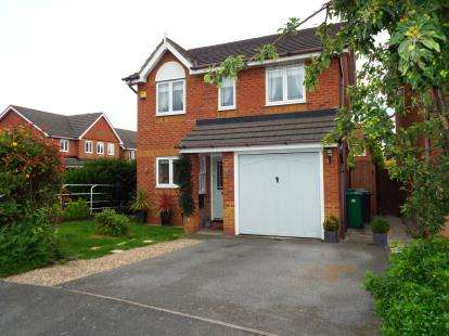 3 Bedrooms Detached House for sale in James Atkinson Way, Crewe, Cheshire