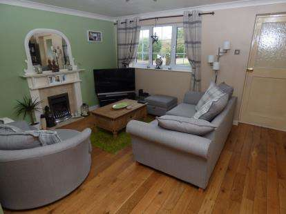 3 Bedrooms Terraced House for sale in Hereford Close, Barwell, Leicester, Leicestershire