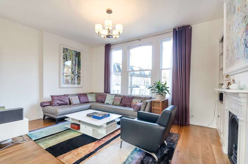 2 Bedrooms Flat for sale in Damer Terrace, Chelsea, SW10