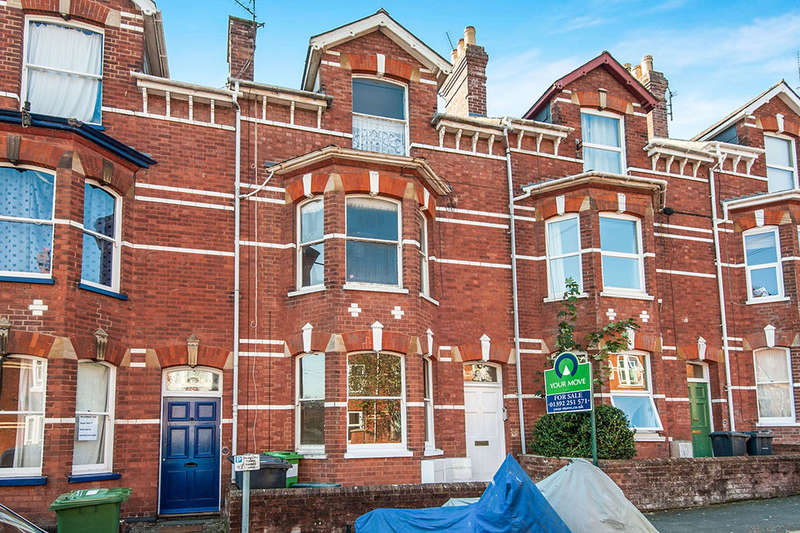 2 Bedrooms Flat for sale in Hillsborough Avenue, Exeter, EX4