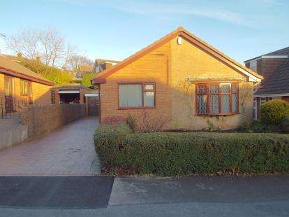 3 Bedrooms Bungalow for sale in Hoghton Avenue, Bacup, Lancashire, OL13
