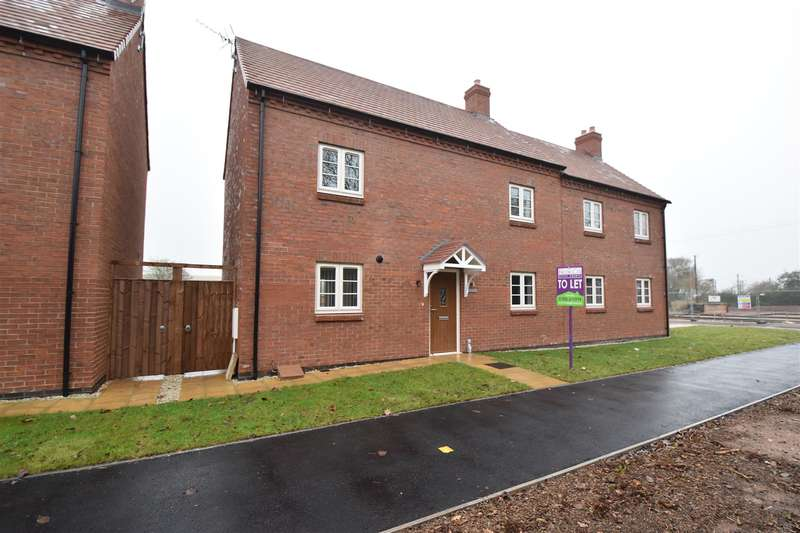 2 Bedrooms Semi Detached House for sale in Droitwich Road, Hanbury, Bromsgrove