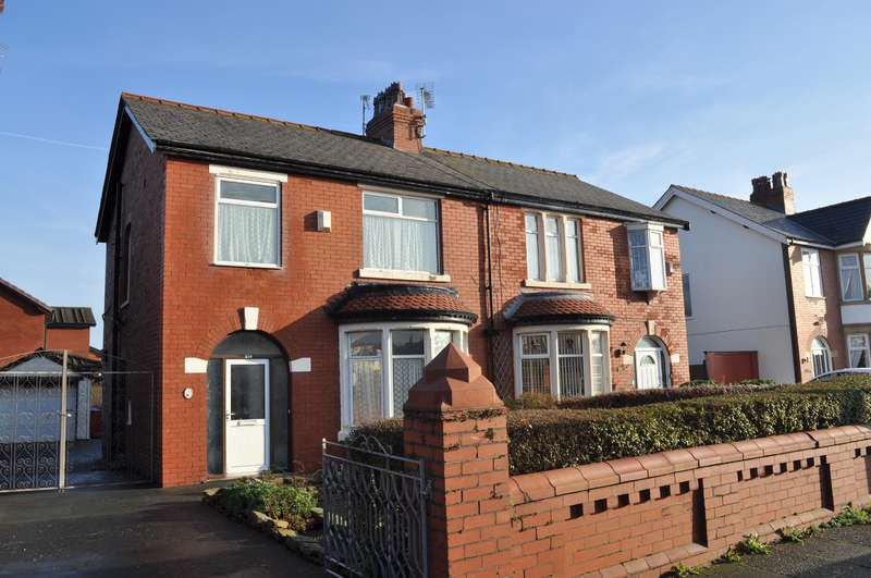3 Bedrooms Semi Detached House for sale in St Annes Road, South Shore, Blackpool, FY4 2EE