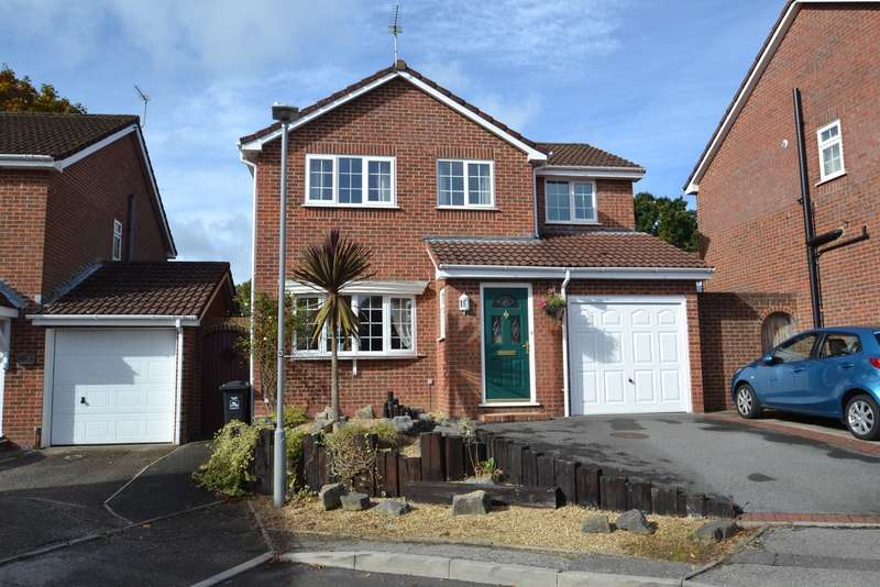 4 Bedrooms Detached House for sale in Creekmoor