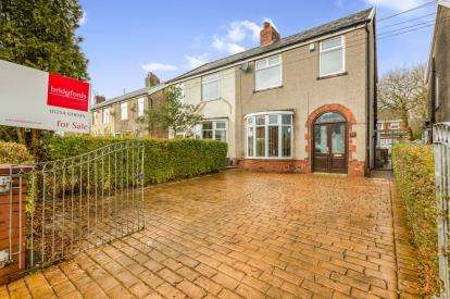 3 Bedrooms Semi Detached House for sale in Shadsworth Road, Shadsworth, Blackburn, Lancashire