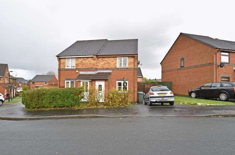 2 Bedrooms Semi Detached House for sale in Coltsfoot Drive, Chorley