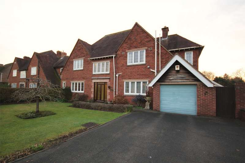 5 Bedrooms Detached House for sale in Hill View Road, Hanbury Park, Worcester