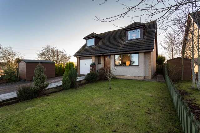 3 Bedrooms Detached House for sale in St Ninians Road, Padanaram, Forfar, Angus, DD8 1PT