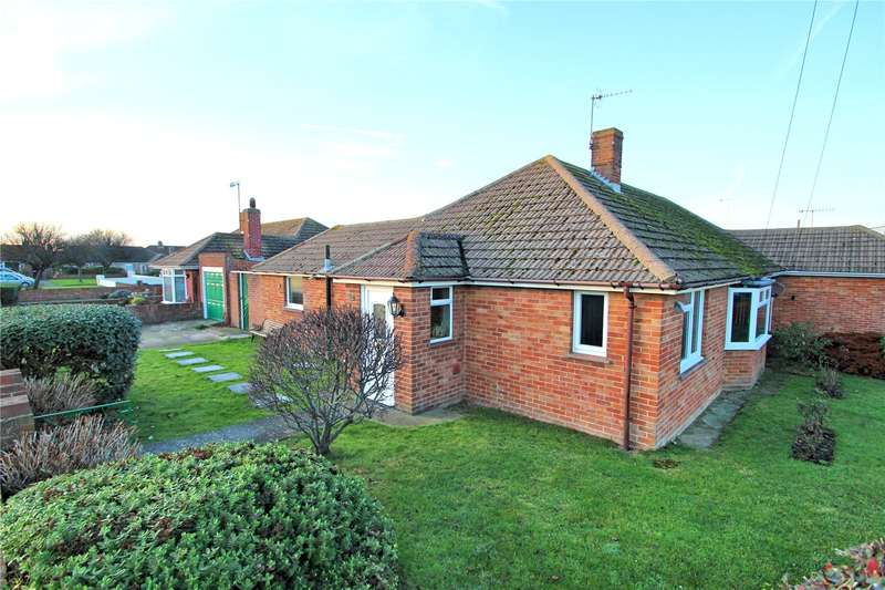 3 Bedrooms Semi Detached Bungalow for sale in Meadow Close, Worthing, West Sussex, BN11
