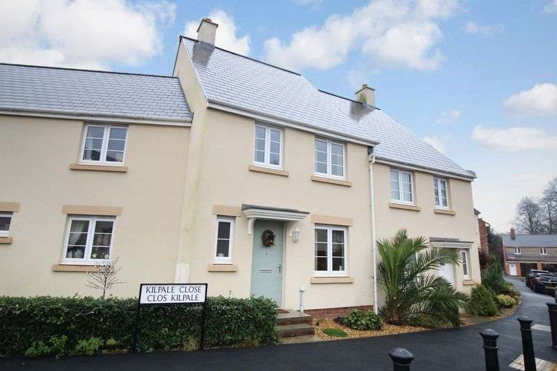 3 Bedrooms Terraced House for sale in Kilpale Close, Caldicot