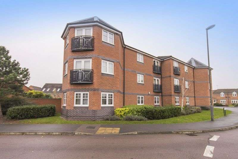 2 Bedrooms Flat for sale in BUCKINGHAM HOUSE, THAMES WAY, HILTON
