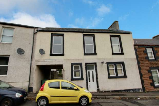 3 Bedrooms Apartment Flat for sale in St Cuthbert's, Maybole, Ayrshire, KA19 7HE